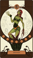 Rising Crowns: Dryads by irenukia