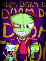 Dual Zim colored by dragonfire1000