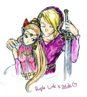 Zelda: Purple Gets the Girl by Gabi-hime