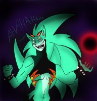 Nazo and Scourge fusion by klaudiapasqui