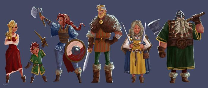 It's All About The Vikings favourites by TharBeVikings on DeviantArt
