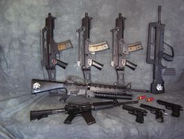 Airsoft guns... by killswitchlogic