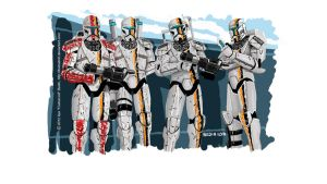 Republic Commando Ion Team by FoxbatMit
