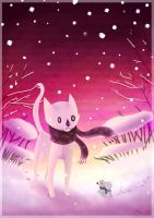 Pink Winter by tigon