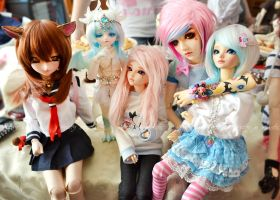 Dollmeet in the Netherlands x3 - 02 by prettyinplastic