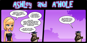 Ashley and A*Hole #83 by Ashleykat