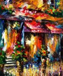 Paris new by Leonid Afremov by Leonidafremov