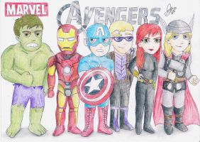 Marvel's The Avengers by diegio1996