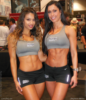 Lais De Leon and Stephanie Mahoe, Nutrex Beauties by zenx007
