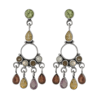 Dangle ear rings stock png by DoloresMinette