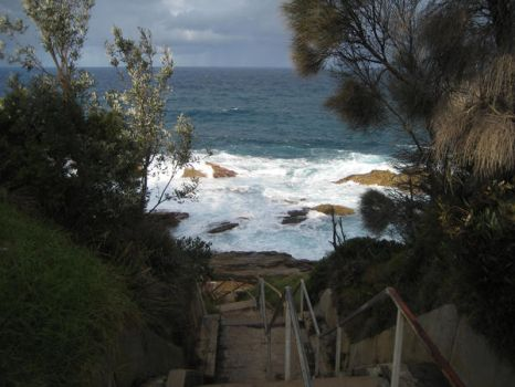 Stairway to the Ocean - NSW by talespin