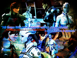 Shepard and Liara Romance: Make Up a Story by suicidebyinsecticide