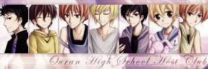 Ouran High School Host Club by kaekaa
