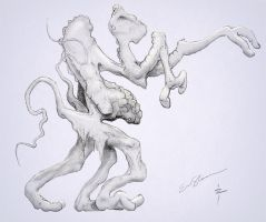 Creature concept sketch by ericshawn