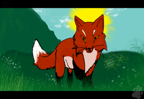 -AC- April Showers Brings May Fox? by SpiritHunter101