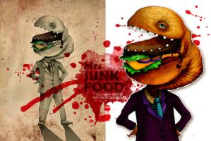 Mr. JunkFood by gikz
