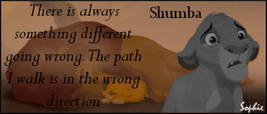 Requested Sad Simba Sig by SophieTheVampire