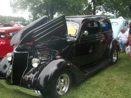 (1936) Ford Sedan by auroraTerra