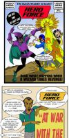 Hero Force No.2  2007 by LegacyHeroComics