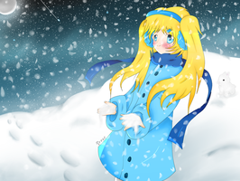 ::Contest Entry, Snowy Winter:: by XxStrawberryQueenxX