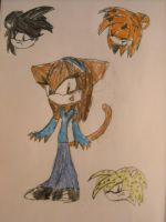 Kitty sonic form by Kittengirl34