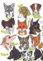 My Favorite Dog Breeds by Cobalt-Flame