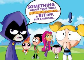 Teen Titans Go and The PowerPuff Girls by xeternalflamebryx