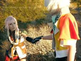 FFXIII: Not Alone by Kaira27