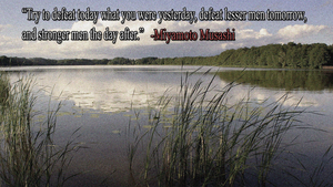 Miyamoto Musashi Quote Wallpaper by JanetAteHer
