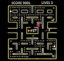 M3: Chimera Lab (Pacman Style) by oceanlover4evr