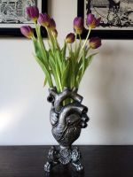 Anatomical Heart Vase by DellamorteCo
