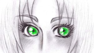 Jade Green Eyes... by DesertRose69