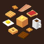 Isometric breakfast by irmirx