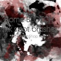 Ink Blotch - PSP brushes by calthyechild