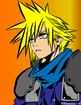 Cloud Strife by sPamxD