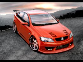 Holden Drift Car by hesoyam25 by hesoyam25