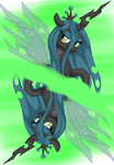 Queen Chrysalis MLPlaying Card by Music-S-Brush