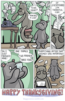 Hippo's Thanksgiving by BoggyComics