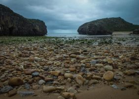 Asturias 2013 (02) - Dark waters by HermitCrabStock
