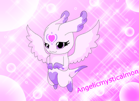 Angelicmysticalmon by HeroHeart001