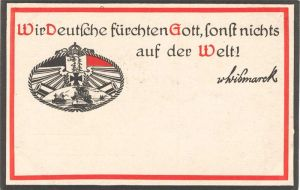 WWI German Postcard by TeutonicNursemaid