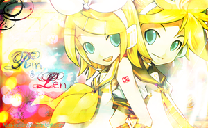 Rin and Len by Miss-Japan