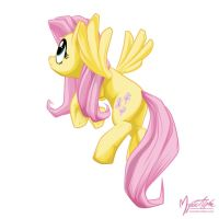 Fluttershy Flying 02 by mysticalpha