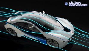 BMW Vision hybrid concept II by maView