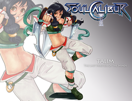 Soul Calibur - Talim by Nekucciola