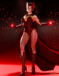 Scarlet Witch by Agr1on