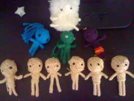 My String Doll Family by xXSleepieXx