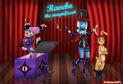 Ravebo the Magnificent silent performance by Gojiro7
