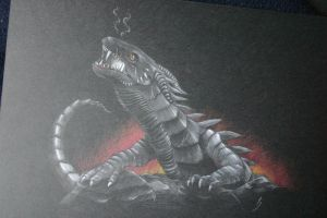 glaurung, worm of morgoth by SaturnDays
