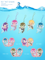 Free! Pair Keychains PREORDER AVAILABLE! by reika-p